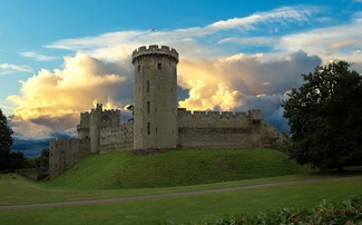 Warwick Castle, over 1,000 years of history