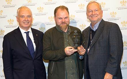 San Pellegrino & Acqua Panna Rising Chef Trophy : Patrick Lieffroy, Restaurant Lieffroy, Danemark