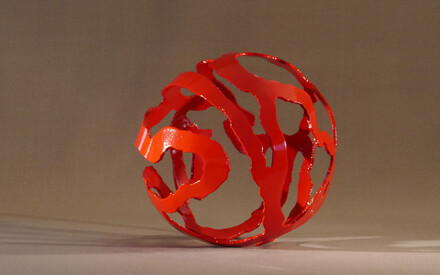 Exposition des sculptures de Bruno Guilhéneuf au Domaine de la Bretesche