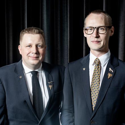 Søren Haumann & Kent Sigerstróm