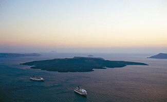 La isla de Delos