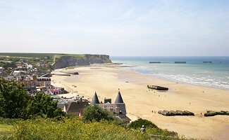 Films and Models at the D-Day Museum, Arromanches