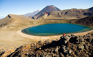 Springs and craters of Tongariro National Park