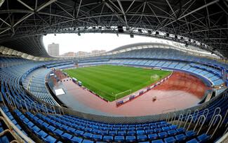 The Anoeta stadium, temple of football... and rugby, San Sebastian