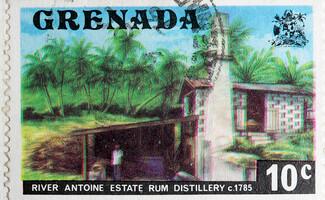 Distilleria di rum River Antoine