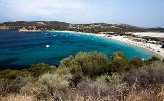 L'île Ammoulianí, paradis en eau turquoise