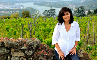 Christine Vernay, an exceptional winegrower (Condrieu)