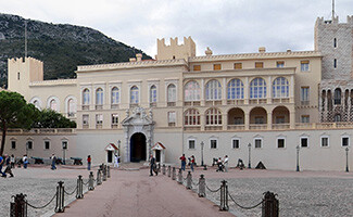 The Rock of Monaco and the Prince's Palace