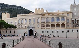 La roccia di Monaco ed il palazzo principesco