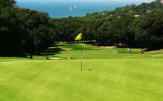 Golf course at Punta Ala
