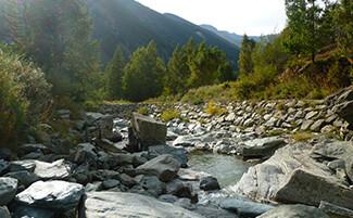 Die Wasserfälle von Lillaz