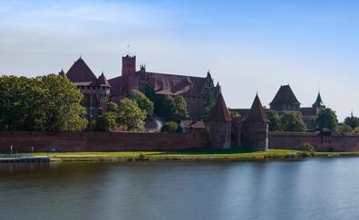 Замок Мальборк, внесенный в список Всемирного наследия ЮНЕСКО