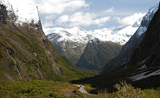 Heading to Mount Cook