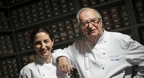 Juan Mari & Elena Arzak