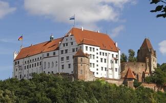 Trausnitz Castle in Landshut