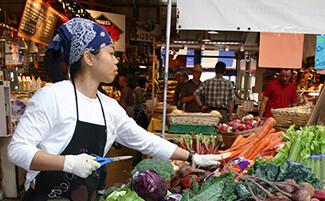 El mercado público de Granville Island, Vancouver