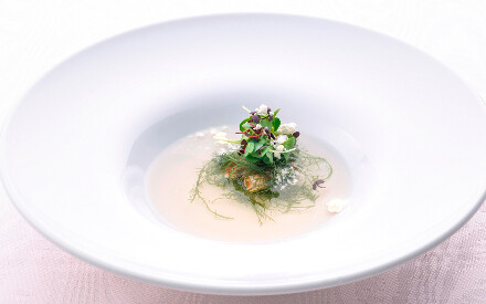 Why not detox with Relais & Châteaux and sample some vegetarian gastronomy?