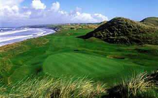 The finest golf courses