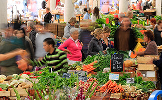 The Forville Market, Cannes