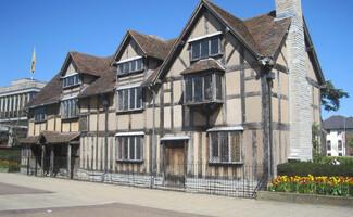 Stratford-upon-Avon, città natale di Shakespeare