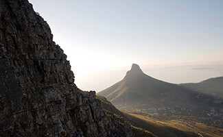 Table Mountain, overlooking Cape Town