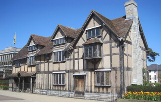 Stratford-upon-Avon, Shakespeare's birthplace