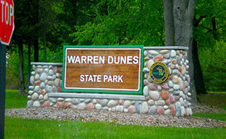 Warren Dunes State Park, Michigan