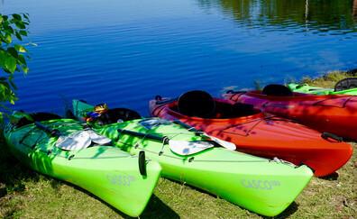 Practicar canoa y kayak en el río Ciron de Bommes