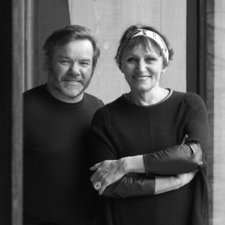 Marie-Pierre and Michel Troisgros