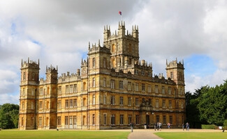 Highclere Castle e Downton Abbey