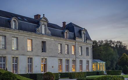 À 35 kilomètres de Reims,  au Château de Courcelles