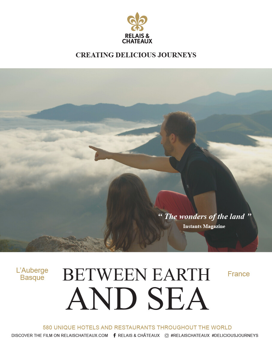 Between earth and sea