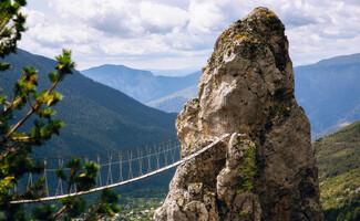 Adventure and adrenaline: via cordata and via ferrata (summer)
