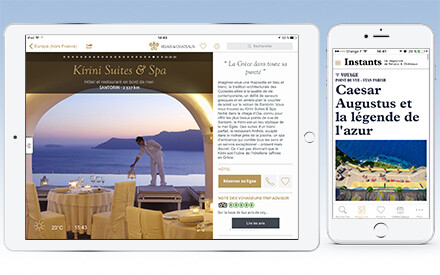 The Relais & Châteaux iPhone and iPad app: a new look and new content!