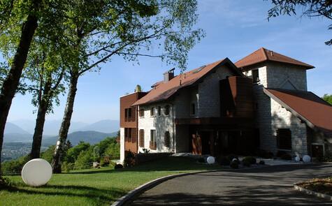 Suite Mont Blanc à la Maison des Ecureuils