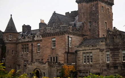 Exploring Scotland|from an enchanted castle