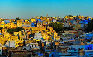 The « blue city » of Jodhpur