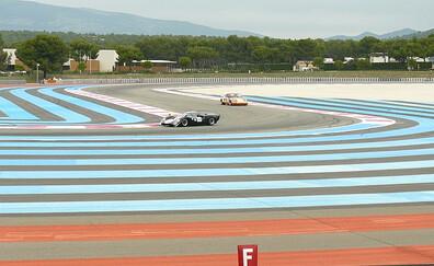 Racing around the legendary Paul Ricard circuit (Le Castellet)