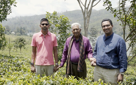 Family story : | the Sri Lanka of |Merill, Malik & Dilhan Fernando