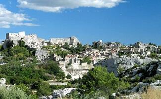 Les Baux-de-Provence, promontoire de charme face aux Alpilles