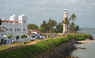 The old town of Galle