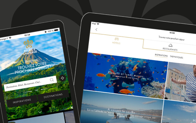 Relais & Châteaux launches a new application for you to create wonderful trips