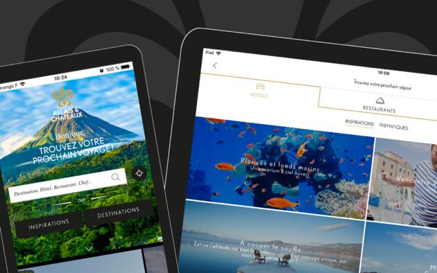 Relais & Châteaux lancia una nuova applicazione per creare viaggi all'insegna delle delizie.
