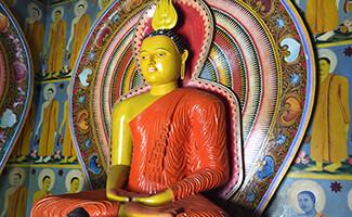 El templo budista de Kothduwa