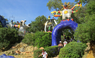 The incredible Tarot Garden of Niki de Saint-Phalle (Garavicchio, Capalbio)