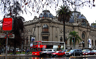 The museums of Santiago