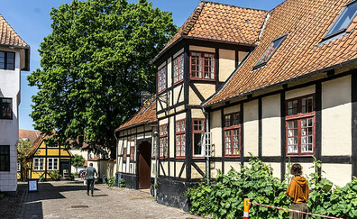 The old town of Faaborg