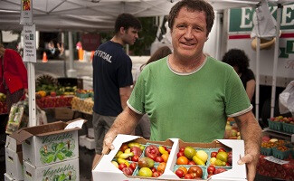 Flavourful tomatoes from Eckerton Hill Farm