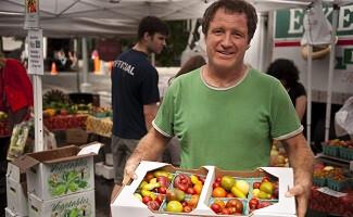 Сочные томаты с фермы Eckerton Hill Farm