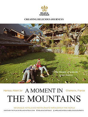 A moment in the mountains